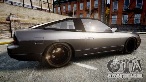 Nissan 240SX S13 for GTA 4 left view