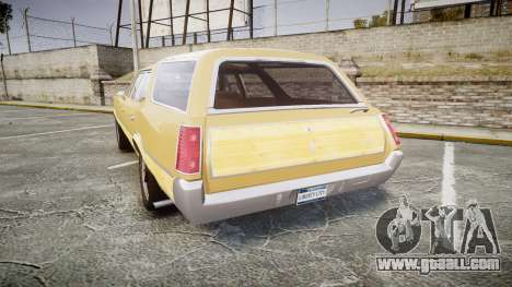 Oldsmobile Vista Cruiser 1972 Rims1 Tree5 for GTA 4 back left view
