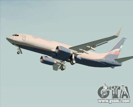 Boeing 737-8LJ Aeroflot - Russian Airlines for GTA San Andreas upper view