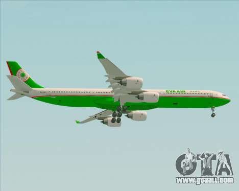 Airbus A340-600 EVA Air for GTA San Andreas right view