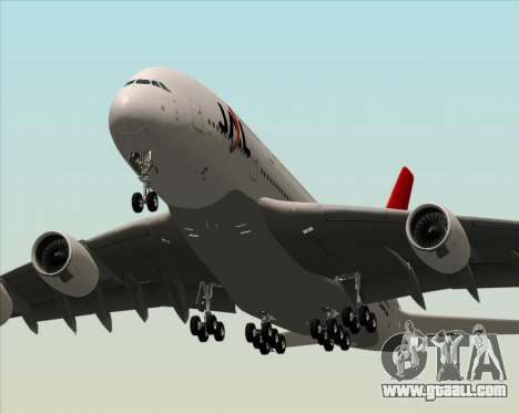 Airbus A380-800 Japan Airlines (JAL) for GTA San Andreas wheels