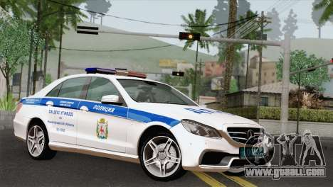 Mercedes-Benz E63 AMG 2014 ДПС for GTA San Andreas