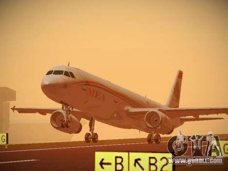 Airbus A321-232 Middle East Airlines for GTA San Andreas