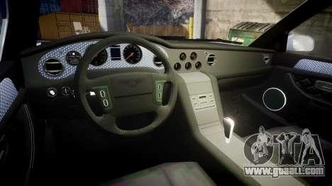 Bentley Arnage T 2005 Rims2 Chrome for GTA 4 inner view