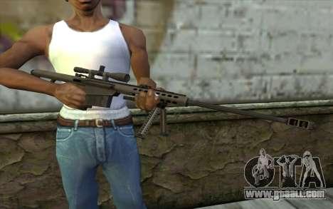 M107 for GTA San Andreas third screenshot