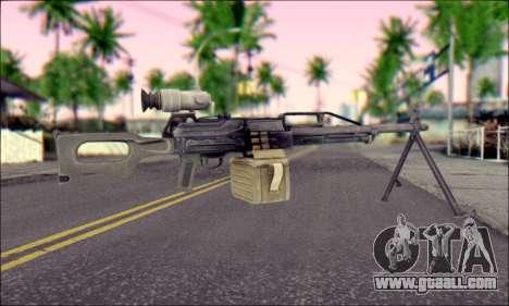 Control panel Pecheneg (ArmA 2) for GTA San Andreas second screenshot