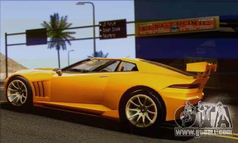 Invetero Coquette for GTA San Andreas left view