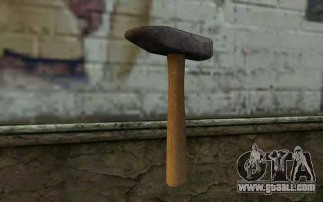 Hammer (DayZ Standalone) for GTA San Andreas second screenshot