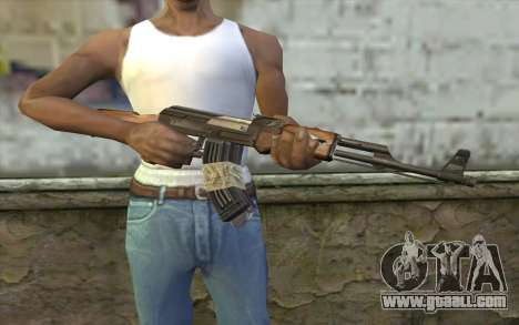 AK47 from Firearms v2 for GTA San Andreas third screenshot