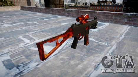 Gun UMP45 Bacon for GTA 4 second screenshot