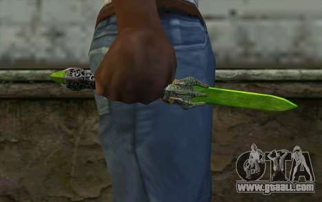 Glass Dagger for GTA San Andreas third screenshot