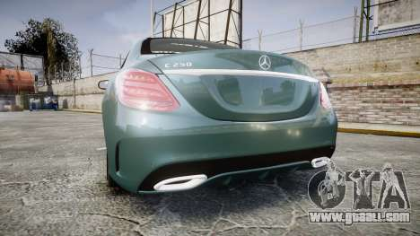 Mercedes-Benz C250 for GTA 4 back left view