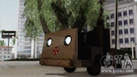Umbrella Cart for GTA San Andreas