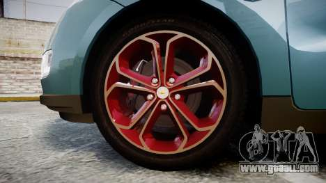 Chevrolet Volt 2011 v1.01 rims2 for GTA 4 back view