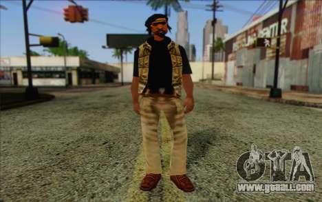 Yardies from GTA Vice City Skin 2 for GTA San Andreas