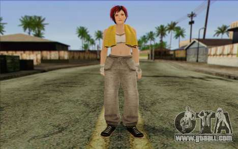 Mila 2Wave from Dead or Alive v15 for GTA San Andreas