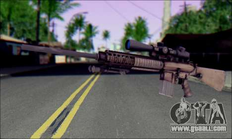 M110 with an Optical sight for GTA San Andreas