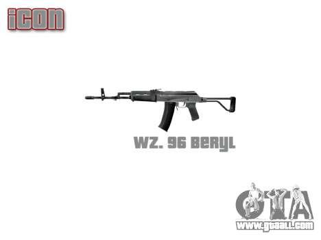 Machine Wz. 96 Beryl icon3 for GTA 4 third screenshot