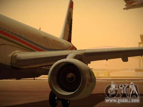 Airbus A321-232 Middle East Airlines for GTA San Andreas wheels