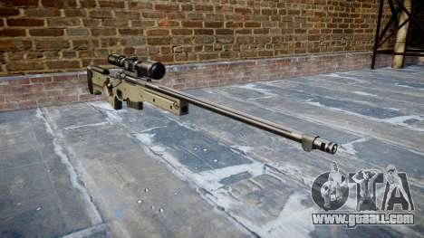 Sniper rifle L96A1 Magnum for GTA 4