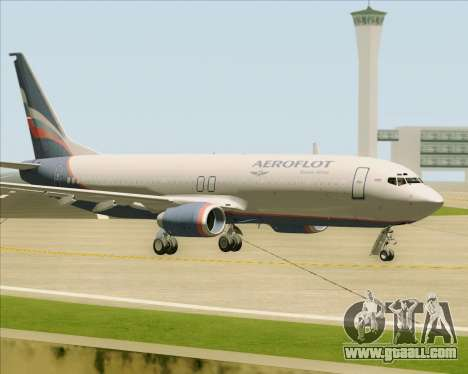 Boeing 737-8LJ Aeroflot - Russian Airlines for GTA San Andreas inner view