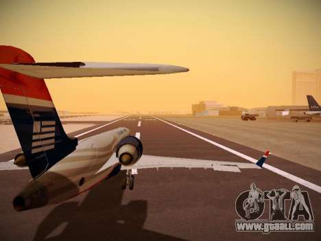 Bombardier CRJ-700 US Airways Express for GTA San Andreas