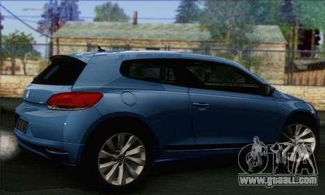 Volkswagen Scirocco 2011 for GTA San Andreas left view