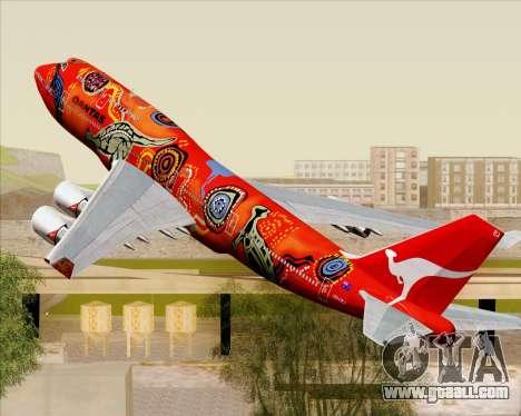 Boeing 747-400ER Qantas (Wunala Dreaming) for GTA San Andreas