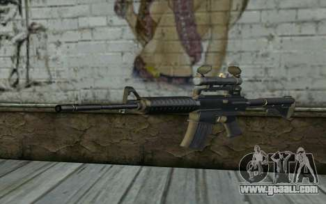 M4 from Hitman 2 for GTA San Andreas