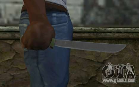 Machete (DayZ Standalone) v1 for GTA San Andreas third screenshot