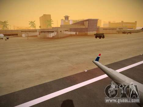 Bombardier CRJ-700 US Airways Express for GTA San Andreas engine