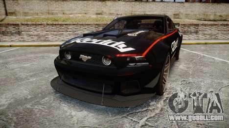 Ford Mustang GT 2014 Custom Kit PJ4 for GTA 4