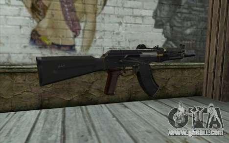 Modern AKS-74U for GTA San Andreas second screenshot