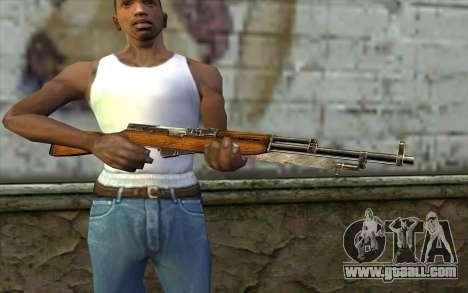 СКС (Battlefield: Vietnam) for GTA San Andreas third screenshot