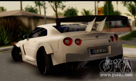Nissan GTR Tuning for GTA San Andreas left view