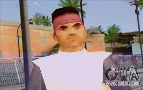 Cuban from GTA Vice City Skin 2 for GTA San Andreas third screenshot