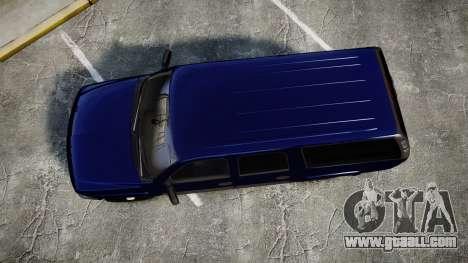 Chevrolet Suburban Undercover 2003 Grey Rims for GTA 4 right view