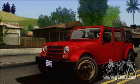 Canis Mesa for GTA San Andreas