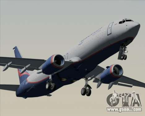 Boeing 737-8LJ Aeroflot - Russian Airlines for GTA San Andreas engine