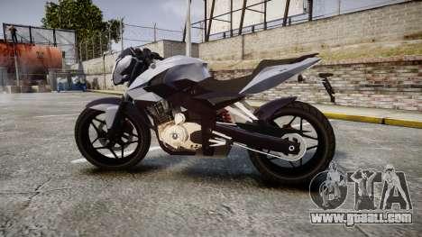 Bajaj Pulsar 200NS 2012 for GTA 4 left view