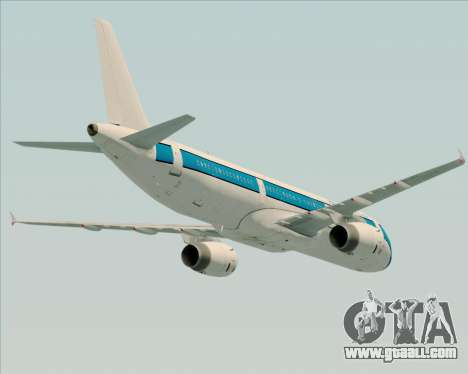 Airbus A321-200 American Pacific Airways for GTA San Andreas wheels