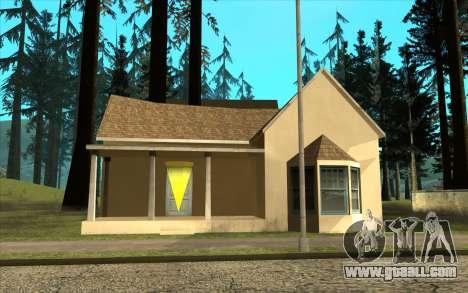 New CJ house in Angel Pine for GTA San Andreas third screenshot