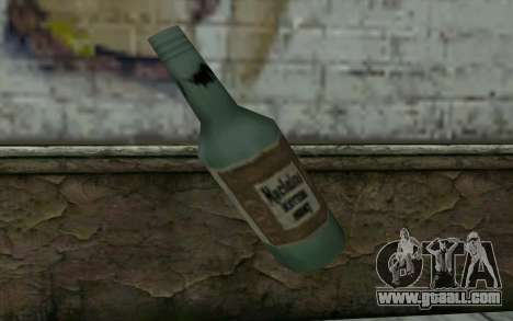 A bottle of beer for GTA San Andreas second screenshot