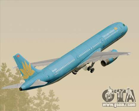 Airbus A321-200 Vietnam Airlines for GTA San Andreas