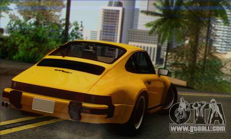Porsche 930 Turbo Look 1985 Tunable for GTA San Andreas left view