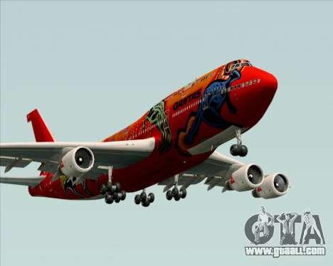 Boeing 747-400ER Qantas (Wunala Dreaming) for GTA San Andreas engine