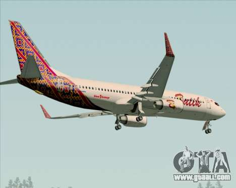 Boeing 737-800 Batik Air for GTA San Andreas side view