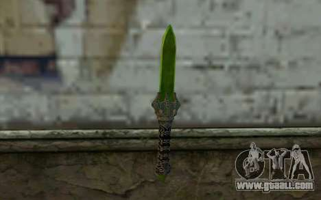 Glass Dagger for GTA San Andreas