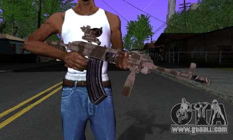 Sa-58V ACOG for GTA San Andreas third screenshot
