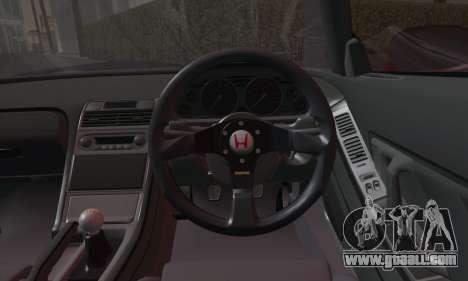 Honda NSX 2005 for GTA San Andreas back view